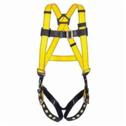 Workman® 10072475 Lightweight Energy Absorbing Lanyard, 310 lb Load Capacity, 6 ft L, Polyester Line, 2 Legs, Rebar Hook Anchorage Connection, Snap Hook Harness Connection Hook, Specifications Met: CSA Z259.11-05, OSHA Approved