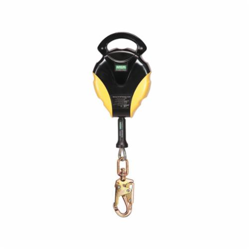 Workman® 10113164 Energy Absorbing Lanyard, 900 lb Load Capacity, 6 ft L, 1 Legs, 36CL Snap Hook Anchorage Connection, 36C Snap Hook Harness Connection Hook, Specifications Met: CSA Z259.11-05, OSHA Approved