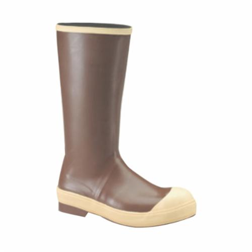 Tingley 21144-10 Ultra Lightweight Knee Boots, Men's, SZ 10, 15 in H, Plain Toe, Rubber/PVC Upper, Resists: Slip and Chemical