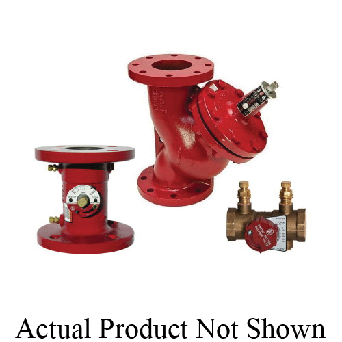 Bell & Gossett Circuit Setter® 117116 Calibrated Balance Valve, 2-1/2 in Nominal, Flanged End Style, 175 psig Pressure, Cast Iron Body