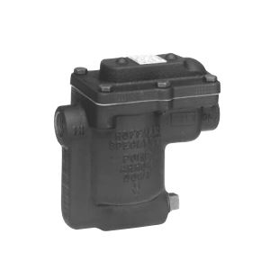 Bell & Gossett Hoffman Specialty® Bear Trap® 404336 B1 Inverted Bucket Steam Trap, 3/4 in, NPT, 406 deg F, 250 psig, Cast Iron
