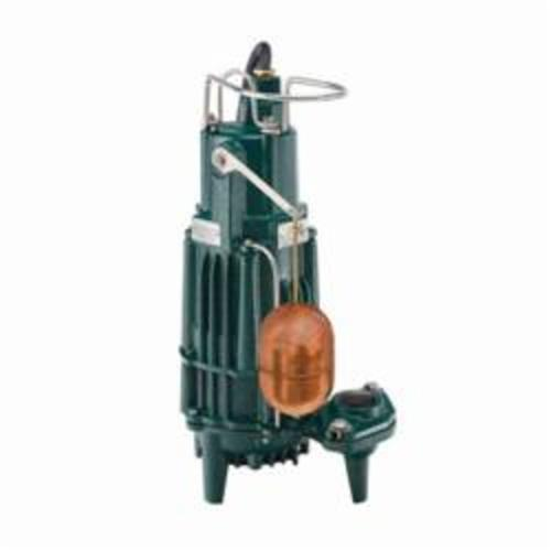 Zoeller® 163-0075 X160 1-Phase Single Seal Submersible Effluent Pump, 100 gpm Max Flow, Automatic/Non Automatic: Automatic, 66 ft Max Head, 115 VAC