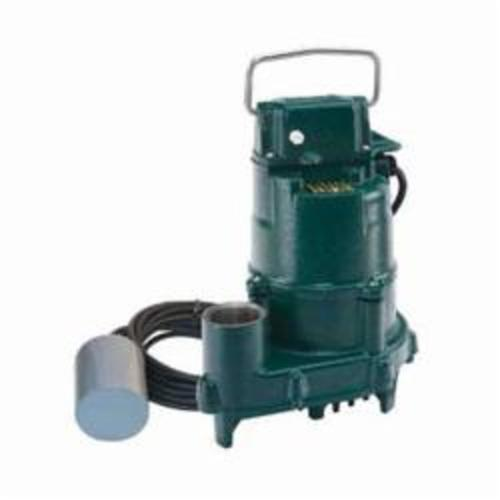 Zoeller® 152-0005 High Head Dose-Mate 150 1-Phase Single Seal Effluent Pump, 77 gpm Max Flow, Automatic/Non Automatic: Automatic, 38 ft Max Head, 115 VAC
