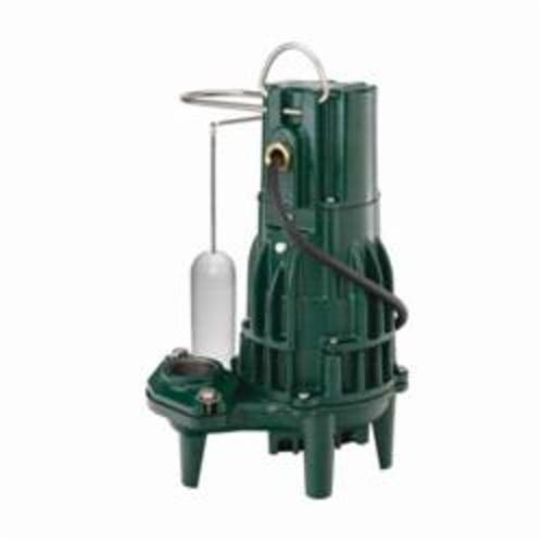 Zoeller® 161-0001 High Head Flow-Mate 160 1-Phase Single Seal Submersible Effluent Pump, 100 gpm Max Flow, Automatic/Non Automatic: Automatic, 56 ft Max Head, 115 VAC