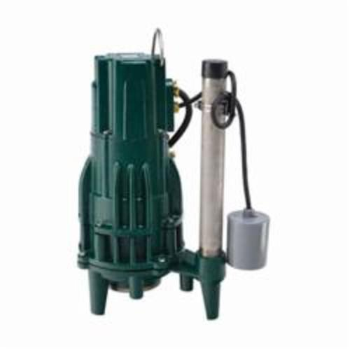 Zoeller® The Shark® 820-0011 1 or 3-Phase Single Directional Grinder Pump, 47 gpm Max Flow, Automatic/Non Automatic: Automatic, 107 ft Max Head, 230 VAC