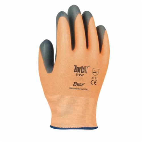 Zorb-IT® 4565-09 High Dexterity Cut Resistant Gloves, L/SZ 9, Sponge Nitrile Coating, Sponge Nitrile, Knit Wrist Cuff, Resists: Abrasion, Cut and Oil, ANSI Cut-Resistance Level: A3