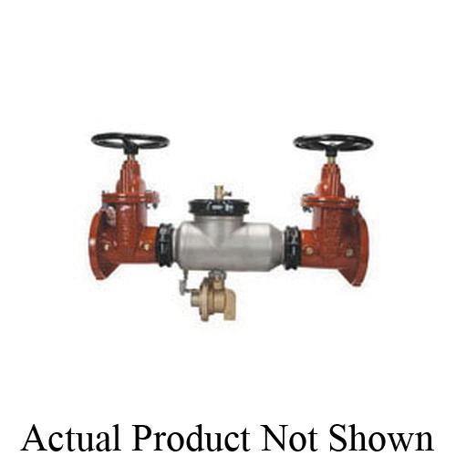 Zurn® Wilkins 6-375ASTFSC 375AST Backflow Preventer, 6 in Nominal, Flanged Non Rising Stem Gate Valves End Style, Non-Rising Stem Gate Valve, 304L Stainless Steel Body, Reduced Pressure, 125 lb