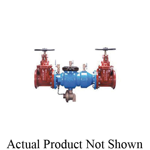 Zurn® Wilkins 3-375FSC 375 Backflow Preventer, 3 in Nominal, Flanged End Style, Standard Non-Rising Stem Shut-Off Valve, Ductile Iron Body, Reduced Pressure, 125 lb, Domestic