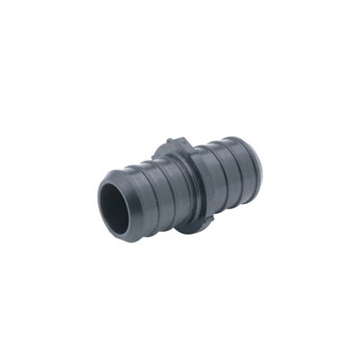 Zurn® Zurn PEX® QickSert CR™ QQPC66X Crimp Coupling, 1-1/4 x 1-1/4 in, Barb, CR Polymer