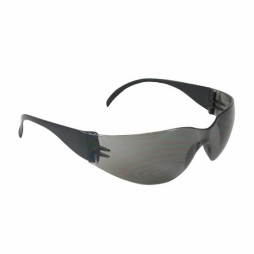 Bouton® 250-00-0002 Zenon Z11sm™ Lightweight Protective Glasses With Reduced Frame, Anti-Scratch, Clear Lens, Rimless Frame, Black, Polycarbonate/PVC Frame, Polycarbonate Lens, ANSI Z87.1+