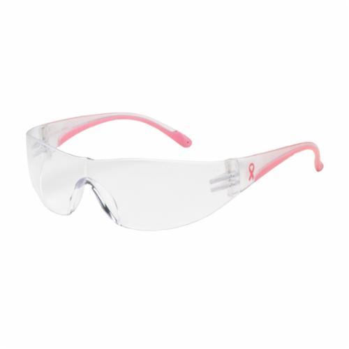 Bouton® 250-06-5503 Zenon Z13™ Lightweight Protective Glasses, Anti-Scratch, Light Blue Lens, Rimless Frame, Light Blue, Polycarbonate Frame, Polycarbonate Lens, ANSI Z87.1+, CSA Z94.3