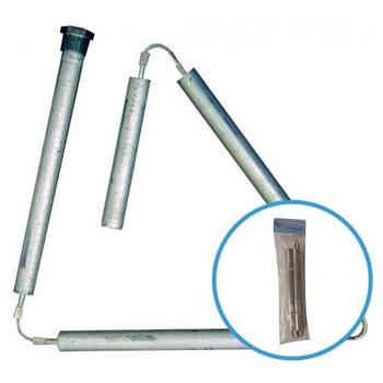 Blue Lightning Rod 1027400 Aluminum 42