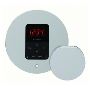 Mr. Steam MS-ITPLUS-RD-PC iTempo Plus Control Pad with Round Cover - Polished Chrome