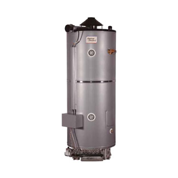 American Standard D-100-270-AS 100 Gallon Heavy Duty Natural Gas Commercial Water Heater