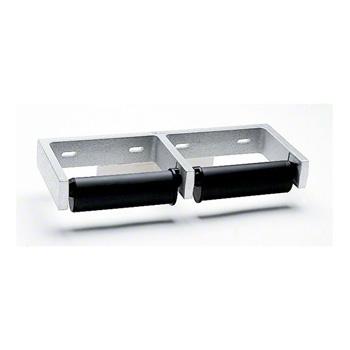 Bobrick BOBB-2740 Double-Roll Toilet Tissue Dispenser - Aluminum
