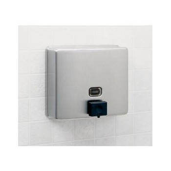 Bobrick B-4112 ConturaSeries Surface-Mounted Soap Dispenser - Satin Stainless