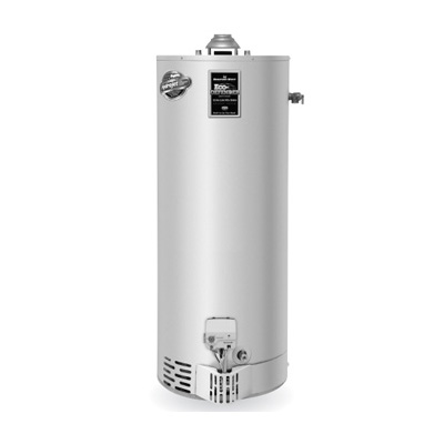Bradford White URG140T6N 40 Gallon 34,000 BTU Ultra Low NOx Residential Atmospheric Vent Gas Water Heater
