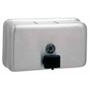 Bobrick B-2112 ClassicSeries Surface Mounted Soap Dispenser - Satin