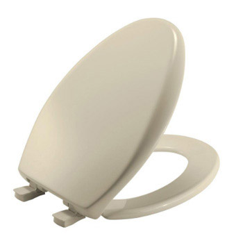 Church 380E3-000 Affinity Elongated Closed Front Toilet Seat - White