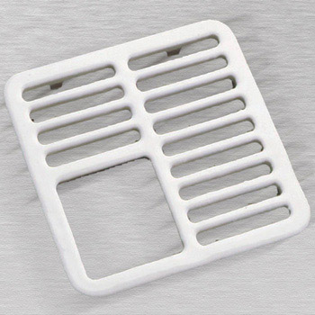 CECO 934 Floor Sink 3/4 Top Grate - White