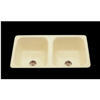 CECO Model 730-D Flat Rim Cast Iron Kitchen Sink 32