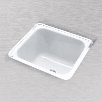 CECO 830-WHT Hoodoo 24 in X 20 in Rectangular Laundry Tray - White