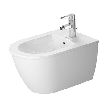 Duravit 224915 Darling Wall-Mounted Bidet - White