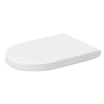 Duravit 0063390000 Starck 3 Toilet Seat and Cover Elongated - White