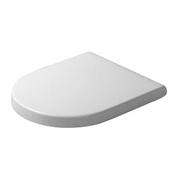 Duravit 0063890000 Starck 3 Round Toilet Seat and Cover - Alpine White