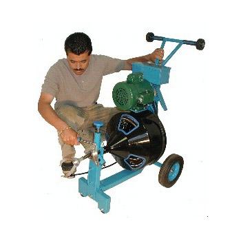 Flexible Plumbertool PTF-3410ZA Single Drum Drain Cleaning Machine