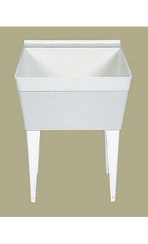 FM Florestone Model FM Utility Sink - White