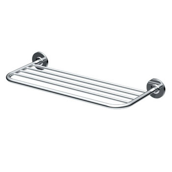 Gatco 1544 20 in Forged Brass Towel Rack - Chrome