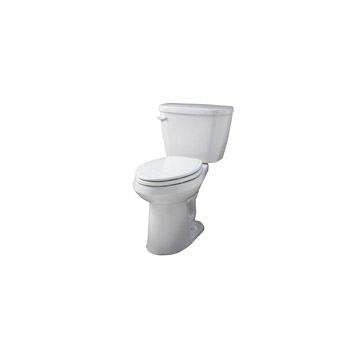 Gerber WS-21-518 Viper ErgoHeight Elongated 2 Piece Toilet - White