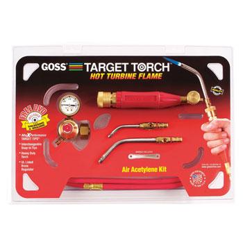 GOSS KX-4B Acetylene Target Torch Turbine Flame Kit