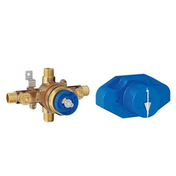 Grohe 35015001 Grohsafe Universal Pressure Balance Rough-In valve
