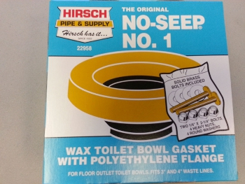 Hirsch Pipe & Supply 001026-N Bol-Wax No. 1 Gasket with 1/4
