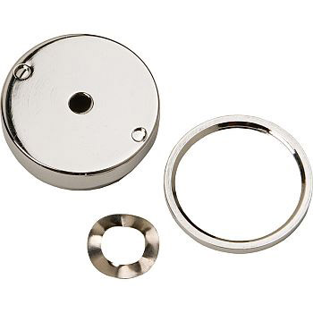 Haws PBA7 Push Button Assembly - Polished Chrome