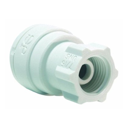 John Guest PP3208U7W Faucet Connector 1/4OD by 7/16-24 UNS
