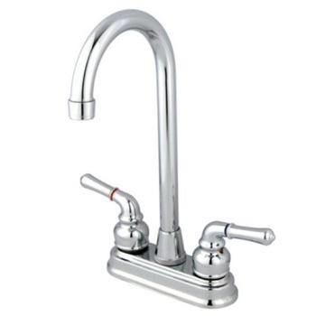 Kingston Brass KB491 Magellan 4-Inch Bar Faucet - Polished Chrome
