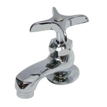 Kingston Brass KF301 Basin Faucet with Compression Valves - Polished Chrome