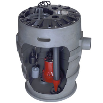 Liberty LIB372XL-LE51A 1/2 HP Submersible Sewage Pump System