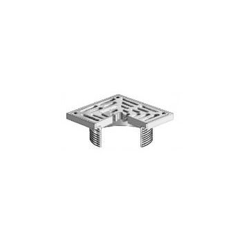 MIFAB S5-1 5 in x 5 in Standard Reinforced Square Strainer