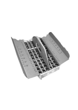 1/2 inch Galvanized Standard Nipple Gray Tray