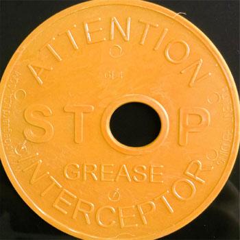 Pipe Guard Stop Grease Interceptor
