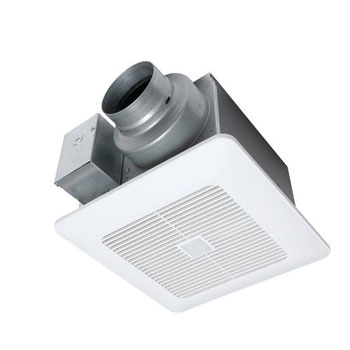 Panasonic FV-0511VQC1 WhisperSense DC Ventilation Fan and CFM Light