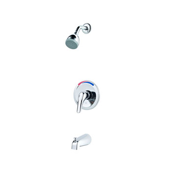 Pfister LG89-0300 Pfirst Single Handle Tub and Shower Trim Only - Chrome