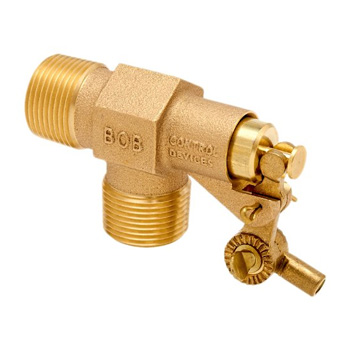 Robert Manufacturing R400 Series Bob Red Brass Float Valve
