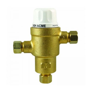 Sharkbite HG145 Thermostatic Mixing Valve with Compression Connections