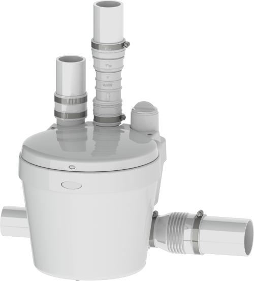 Saniflo 021 Saniswift Residential Gray Water Pump - White