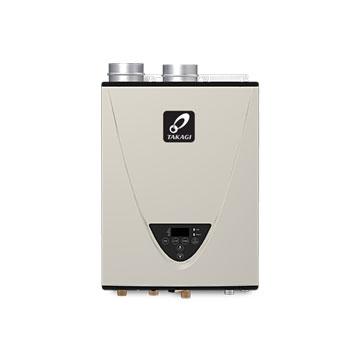 Takagi TK-540P-NIH 199,000 BTU Natural Gas Indoor Condensing Ultra-Low NOx Tankless Water Heater